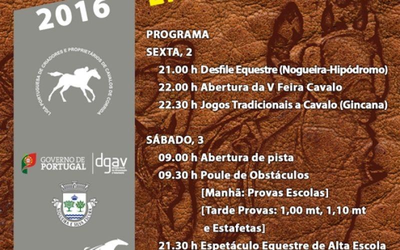 V Edição da Feira do Cavalo no Hipódromo Municipal da Maia