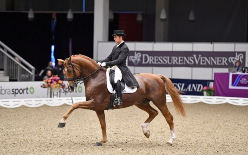 Severo rode to victory in the FEI World Cup opener in Odense