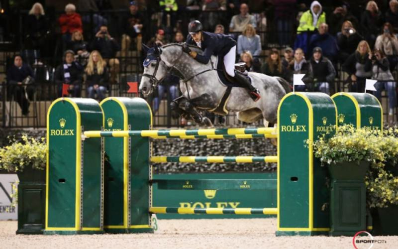 Nicola Philippaerts secures victory in the Rolex CSI 5* Grand Prix at Tryon Fall V