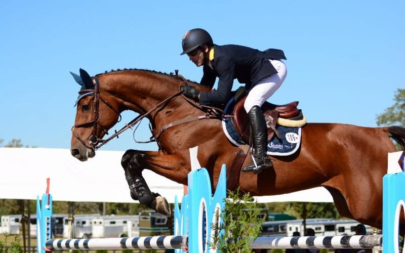 Colombian Cousins Finish 1-2 in the $130,000 CSI 3* Grand Prix