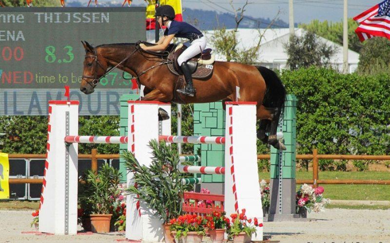CSI3* Vilamoura: Sanne Thijssen entra a vencer na última semana do Champions Tour