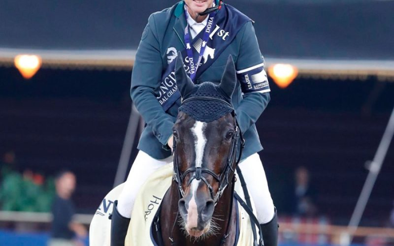 Rolf Fulfils LGCT Title Dream With Amazing Casall