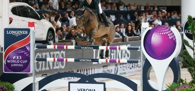 Wild card wonder, Egypt's Abdel Said, scorches to Longines victory in Verona (VIDEO)