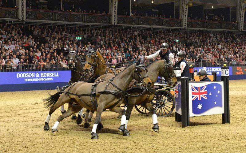 Six times Champion Boyd Exell Triumphs again at Olympia