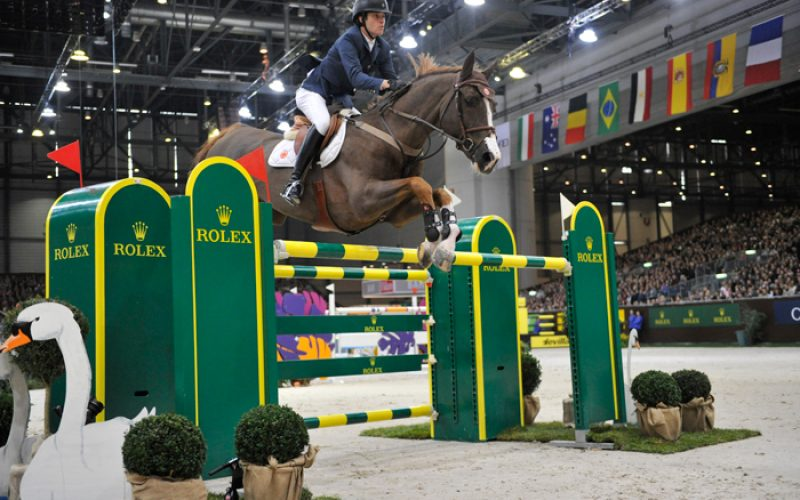 Brazil's Pedro Veniss claims the Rolex Grand Prix at Geneva