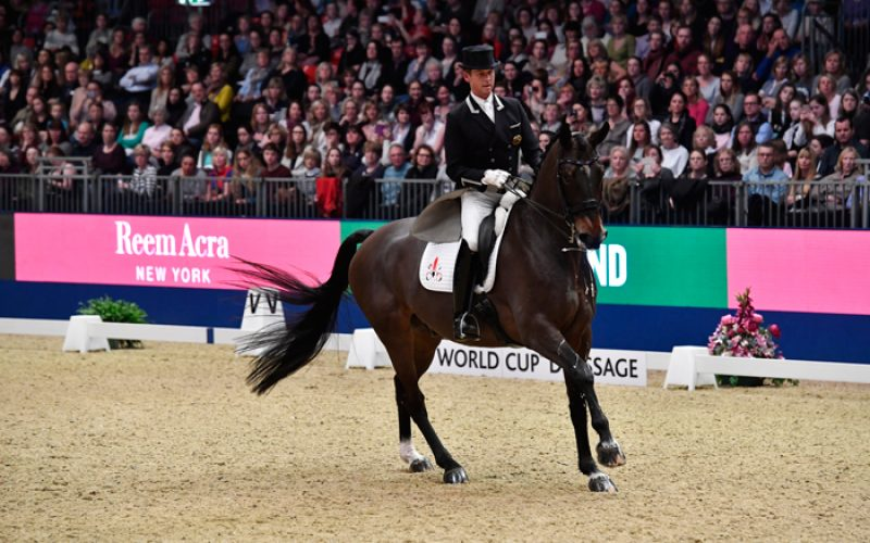 Olympia International Horse Show: Dressage stars take centre stage on opening night