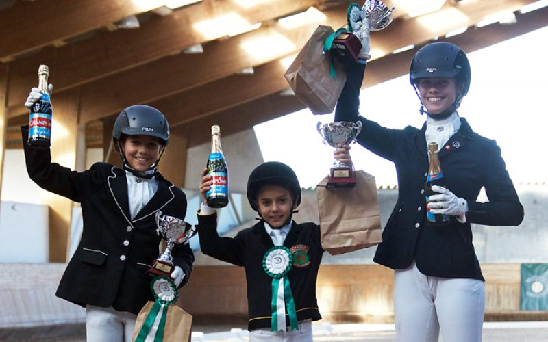 Vencedores do Troféu Dressage Póneis 2016