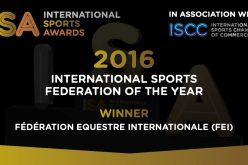 FEI named International Sports Federation of the Year