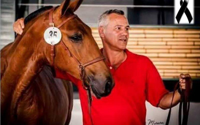 Faleceu Carlos Oliveira após queda de cavalo