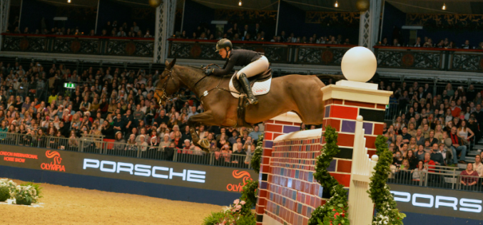 Christopher Megahey clears massive Red Wall to win London Olympia Puissance