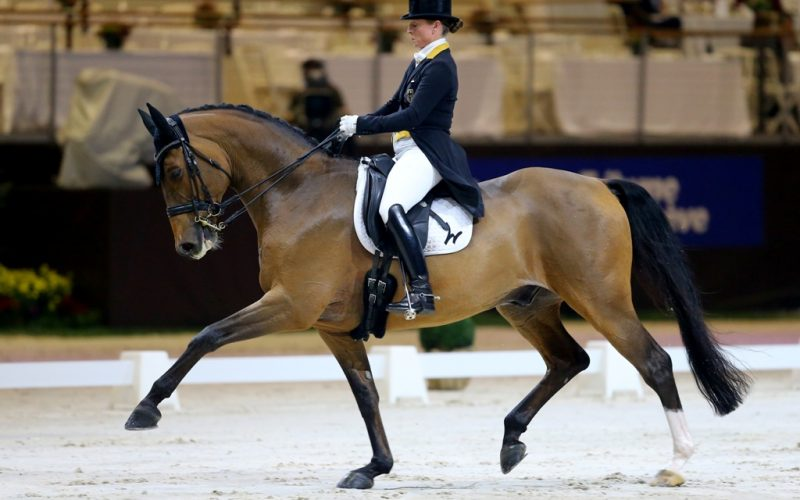 Isabell Werth scores in WDM Grand Prix in Geneva