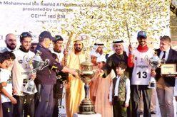 Humaid Al Mazroui conquista o CEI3* no Dubai
