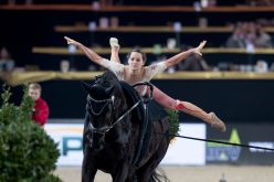 FEI World Cup™ Vaulting: Boe, Heiland and Lupacchini and Stopazzini dominate in tense qualifier at Mechelen