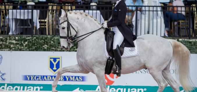 Adequan Global Dressage Festival: Dois cavalos Lusitanos brilham em Wellington (EUA)