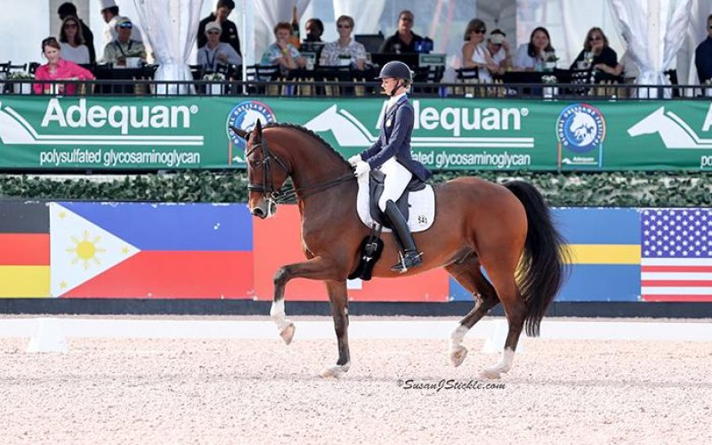Laura Graves and Verdades won FEI Grand Prix CDI-W