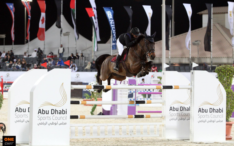 CSI4* Abu Dhabi: Adeline Hecart conquista o Grande Prémio Longines