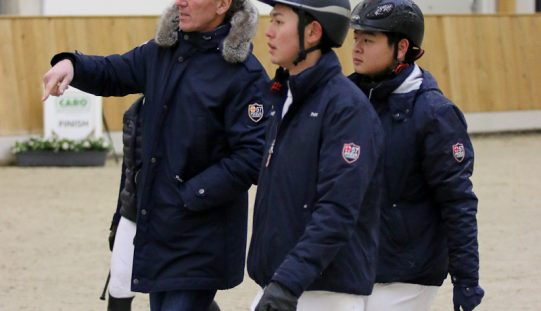 Olympic Ludger Beerbaum aims to bring Asian riders up to international standards