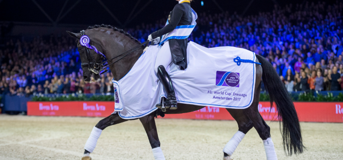 Werth and Weihegold make it a hat-trick in Amsterdam