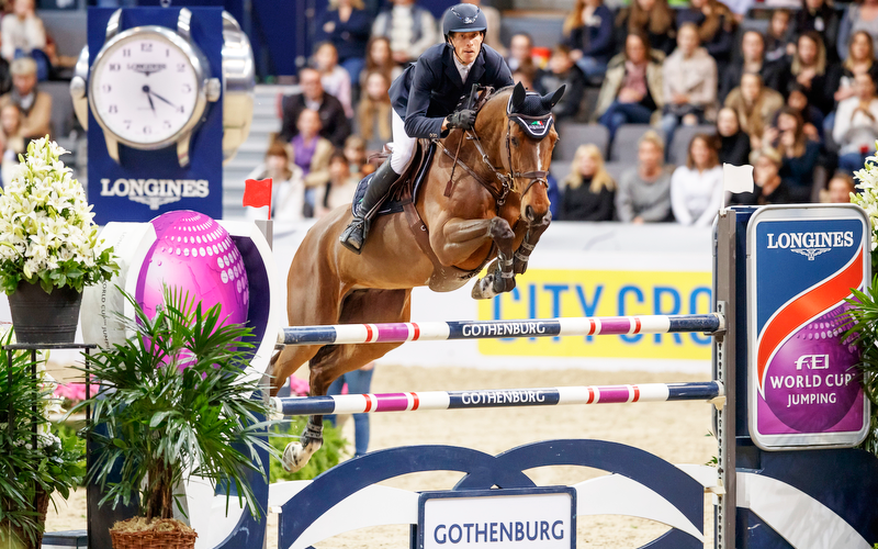 Sweden's Von Eckermann victorious in last-chance thriller at Gothenburg