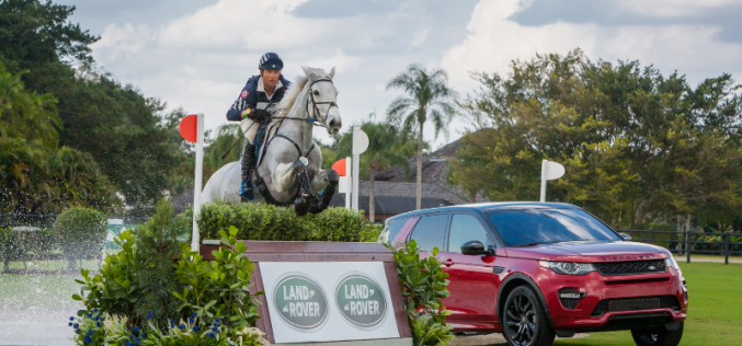 Boyd Martin third consecutive win at the Land Rover Wellington Eventing
