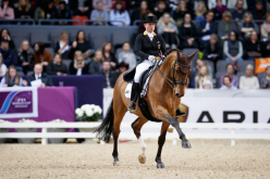 Isabell and the horse that nearly went to heaven win in Gothenburg
