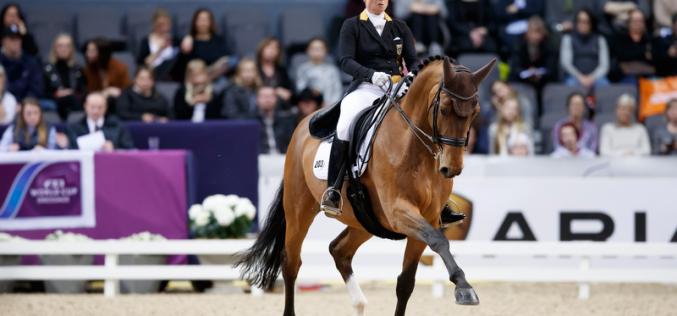 Isabell e o cavalo que quase foi parar ao céu, venceu em Gotemburgo (VÍDEO)