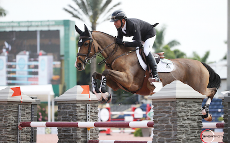 WEF: Eric Lamaze in Fine Form in Florida with Fine Lady 5