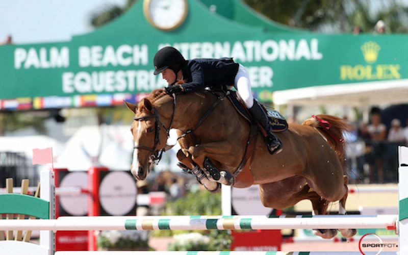 WEF: Jessica Springsteen and Tiger Lily Open CSI 5*  with a win
