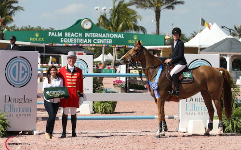 WEF: Jessica Springsteen ganha a prova inaugural da 5ª semana; Luciana Diniz regressa às pistas em Palm Beach