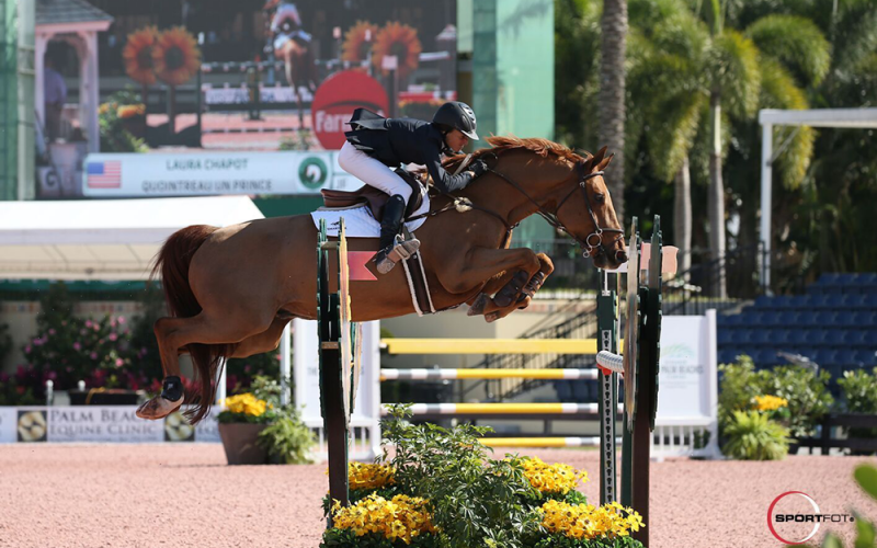 Laura Chapot and Quointreau un Prince Top  win Ruby et Violette WEF Challenge Cup Round 4