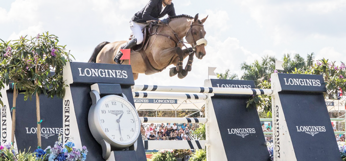 Egypt's Nayel Nassar speeds to Longines victory on Lordan in Wellington (VIDEO)