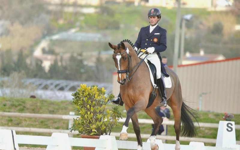 CDI3* Nice: Pedro Pavão quinto classificado no Grande Prémio