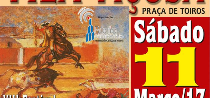 VIII Festival Taurino da Rádio Campanário – 11 de Março
