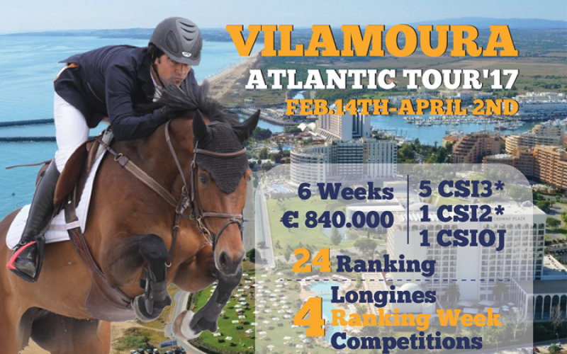 Vilamoura no pódio da elite equestre europeia