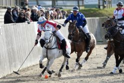 England take on the Commonwealth in the Bryan Morrison Trophy at Hickstead