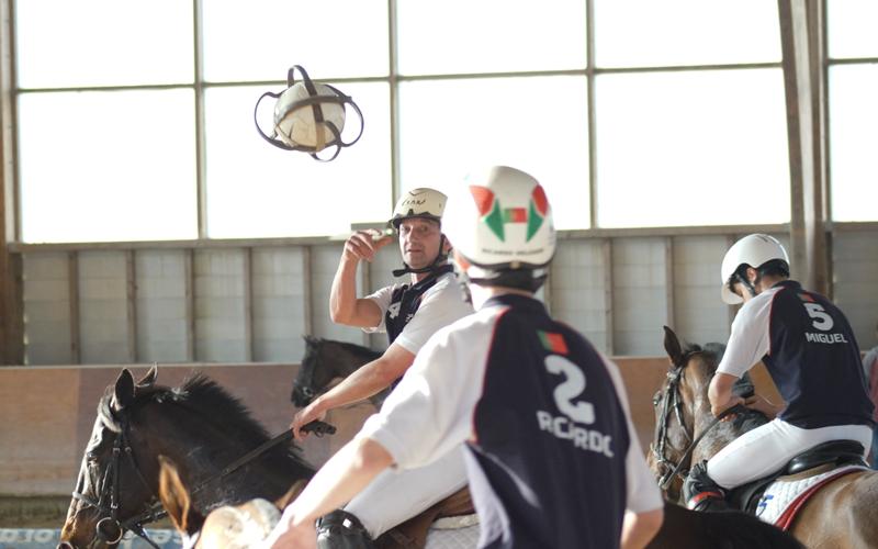 Quinta da Figueira e Quinta de Santo António lideram o Campeonato Nacional de Horseball ex-aequo