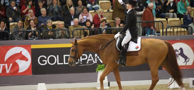 CDI5* Dortmund: Boaventura Freire às portas do pódio no Grande Prémio Freestyle