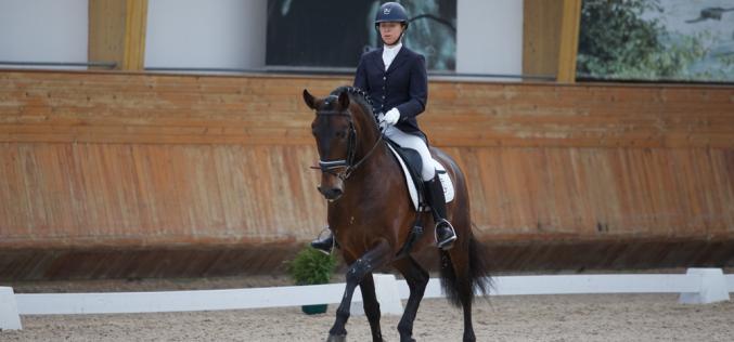 CDI3* Valencia: Maria Caetano em 5º lugar no Prix St. Georges