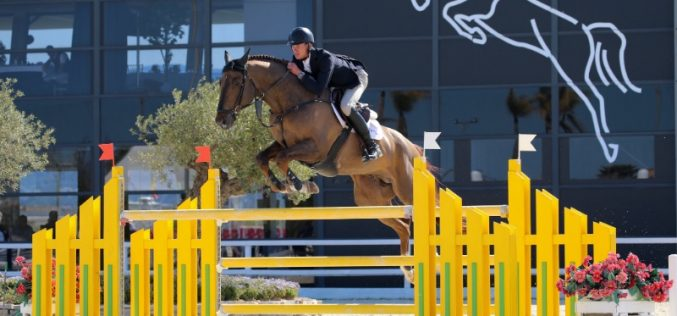 MET 3: Two Irish and one Dutch win in the CSIYH1* young horse finals