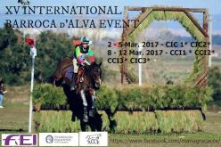 XV Internacional Barroca d'Alva: Primeiros resultados CIC2*/CIC1*/Prelim.