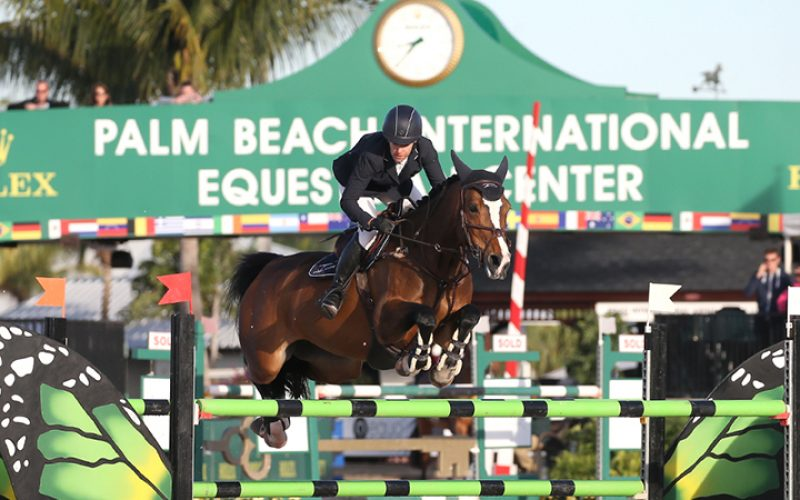 Laura Kraut and Caelle Win $35,000 Douglas Elliman 1.45m at the Winter Equestrian Festival
