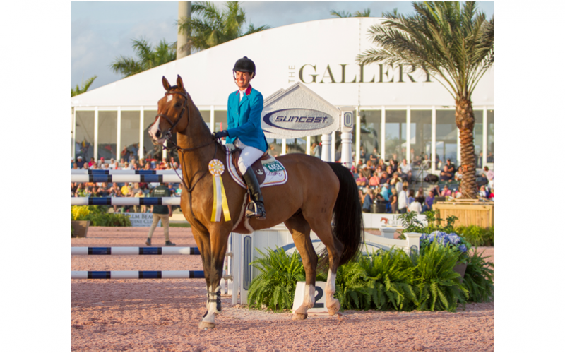 CSI5* Wellington: Luciana Diniz regressa ao pódio no Grande Prémio Suncast (VÍDEO)