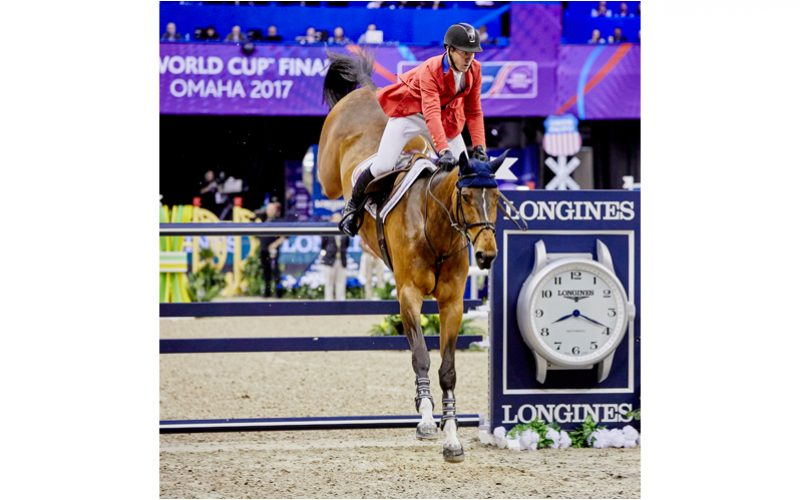 Omaha: McLain Ward and HH Azur Win Jumping Final I Speed Round