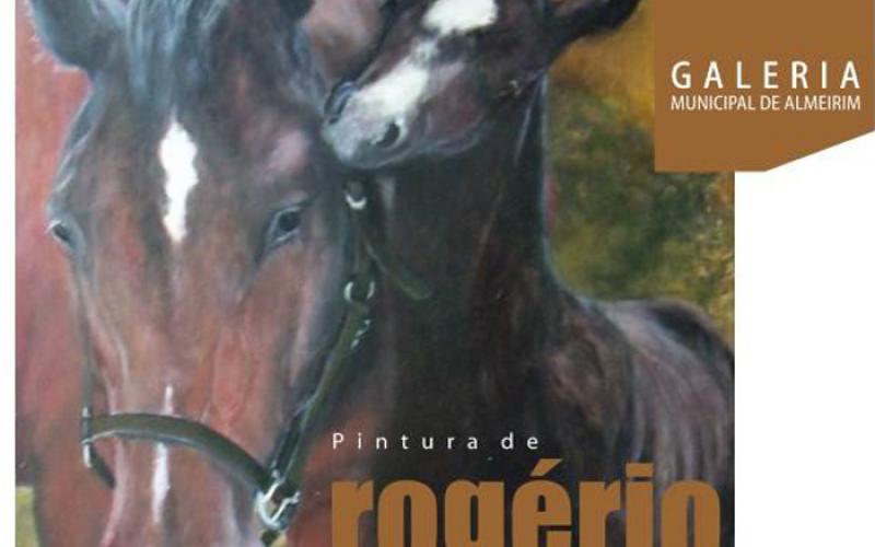 Pintura de Rogério Louro em exposição na Galeria Municipal de Almeirim