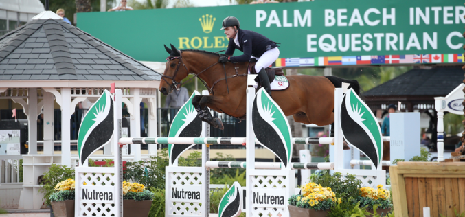 WEF: Peter Lutz Opens CSIO 4* with a Win
