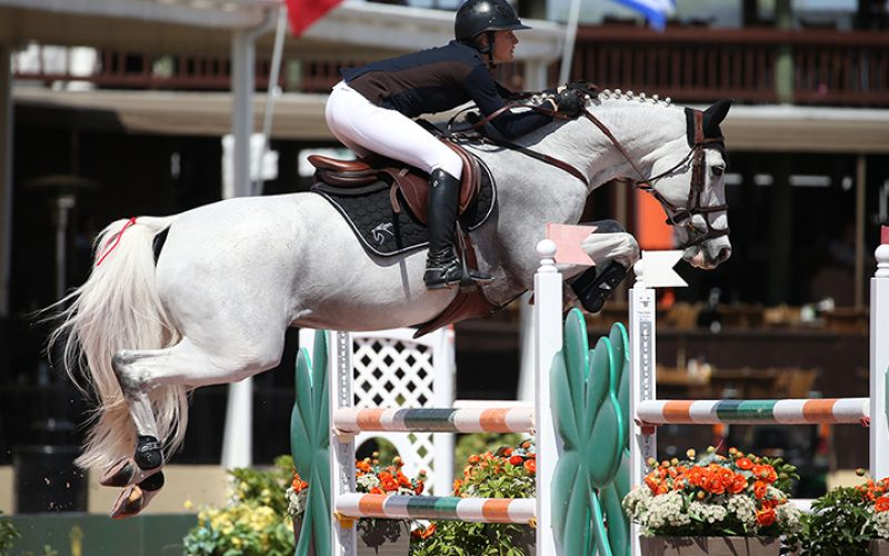 WEF: Paris Sellon and Canasta Z Capture $35,000 Douglas Elliman 1.45m Class