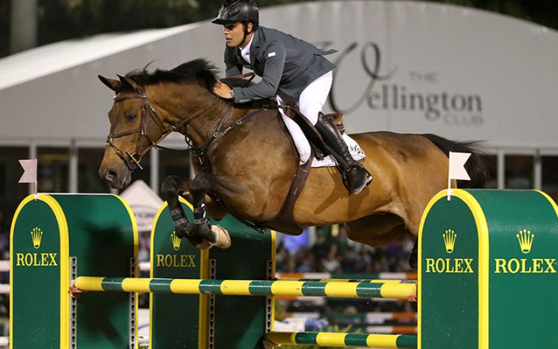 Sergio Alvarez Moya and Charmeur Win $500,000 Rolex Grand Prix CSI 5*