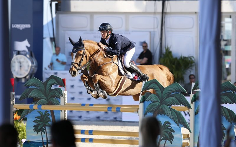 Bertram Allen wins Global Champions Tour opening competition in Mexico