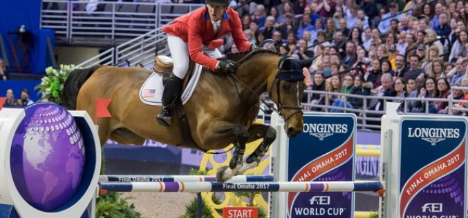 McLain Ward Delivers Blistering Win in LONGINES FEI World Cup™ Jumping Final II