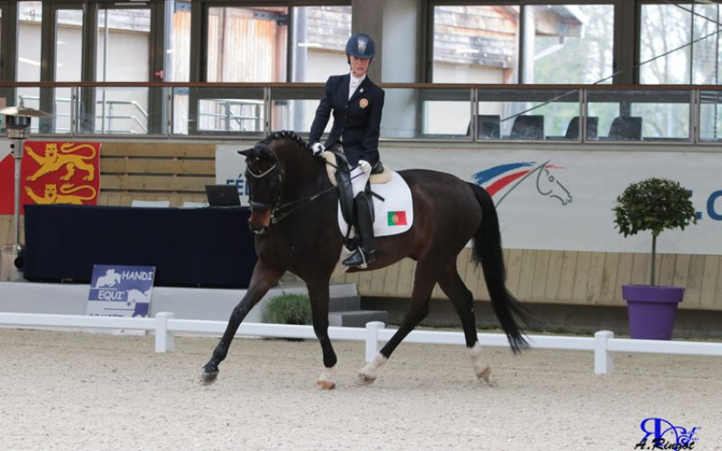 CPEDI*** Deauville: Portugal foi quinto classificado no Campeonato Internacional de Paradressage em França